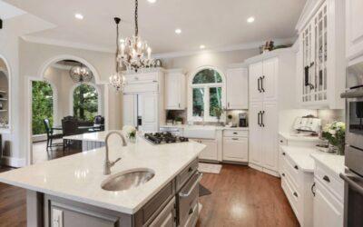 sleek modern kitchen remodel