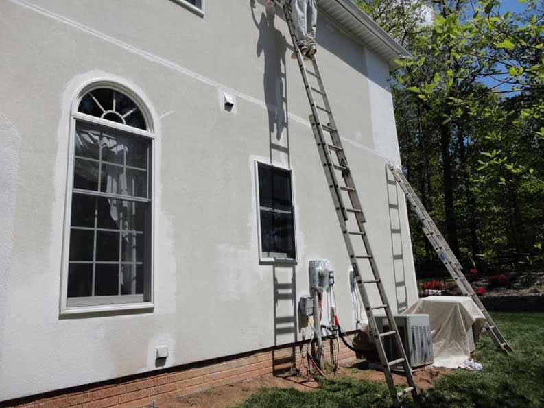Stucco Brick wall, Repointing Bricks Contractors. Get Free Estimate